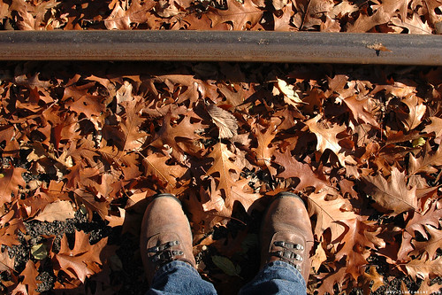 Boots, Leaves and Rail