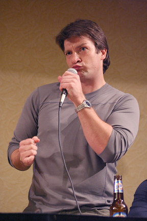 Nathan Fillion @ the Flanvention