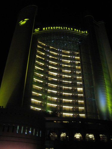 The Metropolitan Palace and Habtoor Grand (not shown) will fall under Hilton management by early-2012.