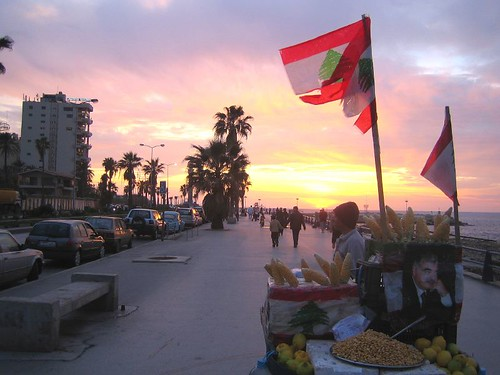 Beirut Corniche in the Evening -- via flickr