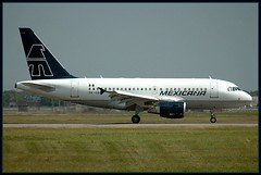 Mexicana A318 XA-UBW (caribb) Tags: travel sky cloud canada tarmac clouds mexicana america plane de airplane flying airport wings montral quebec gates 10 montreal adm aircraft aviation air tail jets airplanes wheels flight wing jet cockpit terminal aeroplane aerial motors landing 101 qubec engines landinggear planes airbus northamerica a3 28 vol arrival avio touchdown flugzeug aeroport aeropuerto runway mx  airliner dorval aeroplanes avion airliners rudder aircrafts yul flaps kanada vliegtuig jetties fuselage jetliner  a319 planespotting flug  aroport  jetliners taxiways aeroplano runways dorvalairport nosegear pierreelliottrudeauinternationalairport aeroports 24r lesaeroportsdemontral 24l 06r 06l internatioanljetty transborderjetty tbjetty domesticjetties customeshall   airplanes101 a320family lesavions