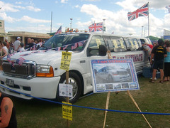 Ford Limousine (Dave-D) Tags: ford limo airshow limousine sunderland f350 carsnap thebiggestgroup daviddunn