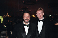 Tim Curry and me (Alan Light) Tags: gay stars rockyhorror celebrities timcurry emmys celebrityphotos