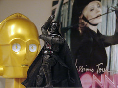 Darth Does 'Vogue' (Regis D) Tags: toys starwars madonna vogue darth top20toy vader darthvader c3po confessions seethreepio thedarkside maytheforcebewithyou worldslargestpezdispenser candiesthesizeofafreakinbrick