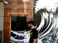 video surveillance wave (Venessa Nina) Tags: nyc photography tags graffitti nina venessa fivefootmohawk venessaninaphotography