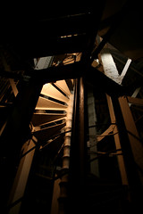 church tower (besides) Tags: tower stairs dark churchtower inside rhythm