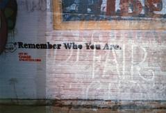 remember who you are (::enrapture::) Tags: california venice streetart film analog 35mm iso200 stencil santamonica xa2 multipleexposure scanned chase olympusxa2 enrapture tripleexposure expiredfilm expired052002 6fourteencom