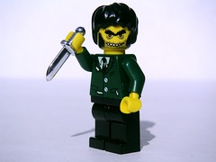 Mr. Hyde (Dunechaser) Tags: fiction lego books literature characters minifig minifigs  mrhyde robertlouisstevenson   drjekyllandmrhyde