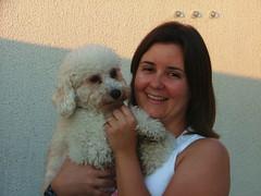 Me e filho (klebersilva) Tags: dog joana coragem