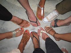 Friends' Feet by Tochka