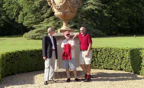 Ted, Jim, et Philippe - Chateau d'Oiron
