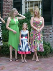 The Girls (sfPhotocraft) Tags: wedding girls rehearsal blondes dresses carolinainn