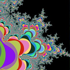 Mandelbrot Set a la Fortran (bonstance) Tags: colors rainbow random programming fractal fortran mandelbrotset