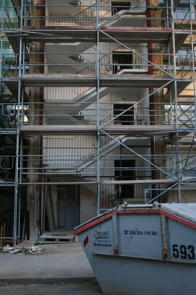Gerüst treppenhaus