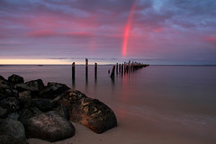 A Rainbow Sunset