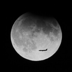 Eclipse Airlines (vlad259) Tags: moon 20d silhouette night plane canon wow airplane eclipse harvest aeroplane fullmoon lucky fabulous harvestmoon lunar airtravel lunareclipse 500x500 winemoon singingmoon elkcallmoon foolmoon utatafeature