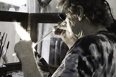 Glass Maker (NicoArango) Tags: atlanta portrait people festival georgia gente retrato retratos stonemountain artesanos realpeople nicoarango handcrafters gentereal 38thannualyellowdaisyfestival