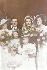 Wedding of Dorothy Lilian Butcher to Richard May1936