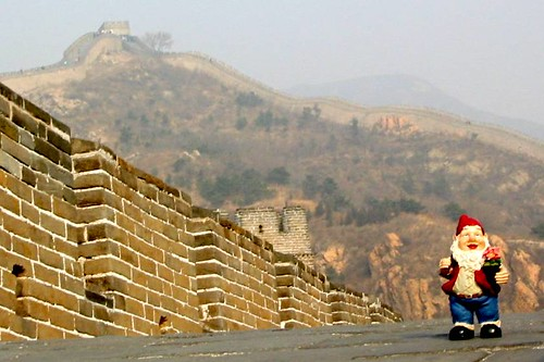 Thor on the Great Wall, Badaling, China