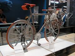 Koga-Miyata all-carbon prototype (anabananasplit) Tags: germany bicycles bicicletas alemanha friedrichshafen