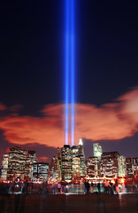Tribute in Light 11 (monika_ny) Tags: nyc newyork remember peace worldtradecenter 911 september11 groundzero tributeinlight
