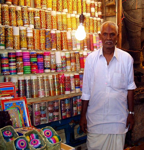 Bangle-seller