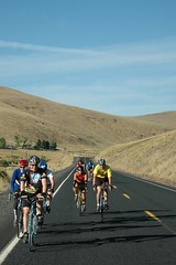 cycle oregon day 2 - heppner to Starkey