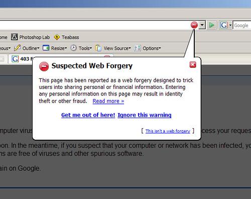 Firefox 2.0 anti-phishing von Andrew*.
