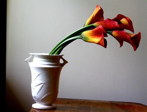 フリー画像| 花/フラワー| 百合/ユリ| 花瓶|        フリー素材|