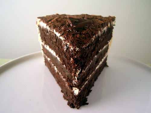 Devil's Food Cake with Vanilla Buttercream