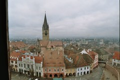 Sibiu seen from above (monika & manfred) Tags: travel landscape mm utataview