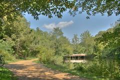 Biking trail (jason_minahan) Tags: park nature nj trail princeton hdr mercercounty