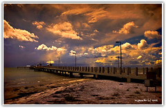 Fort DeSoto Pier (Michael Pancier Photography) Tags: usa beach gulfofmexico weather clouds tampabay florida piers northbeach beaches storms fortdesoto southflorida fineartphotography naturephotography stpetersburgflorida naturephotographer floridaphotographer pancier michaelpancier michaelpancierphotography wwwmichaelpancierphotographycom
