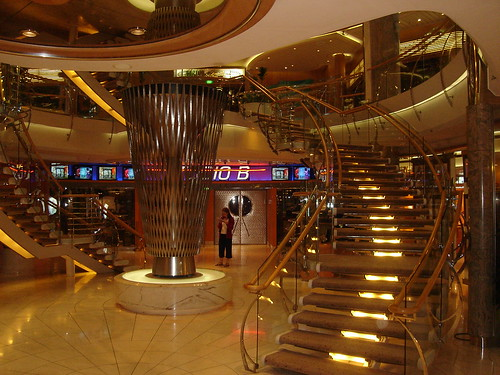 Entrance to ice rink, Voyager of the Seas