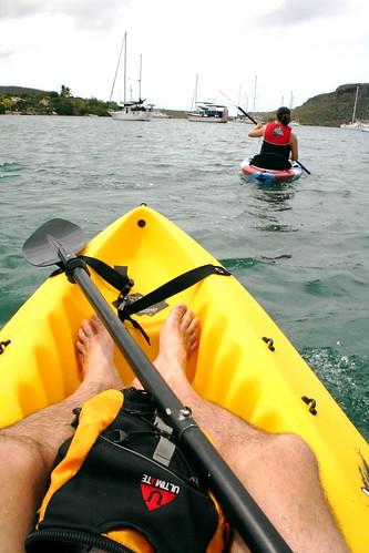 paseos en kayak en Curazao