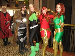 IMG_4433 (Patcave) Tags: costumes girls phoenix dragon 2006 xmen rogue con gambit dragoncon jeangrey dragoncon2006