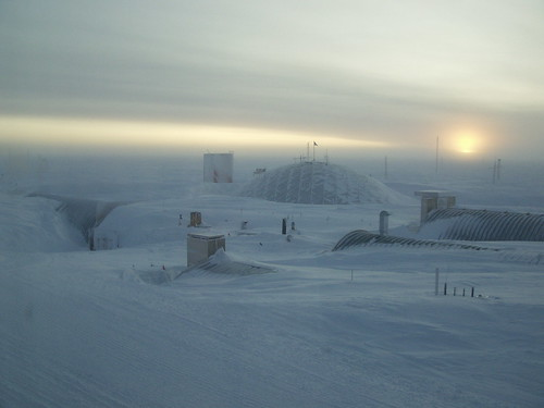 South Pole Sunrise
