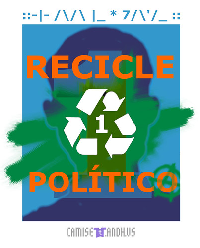 Estampa Recicle 1 Político