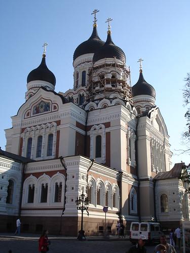 Toompea Hill Palace Square, Tallinn