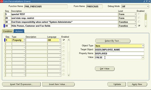 Form Personalization in Oracle Applications | Shivmohan Purohit's ...