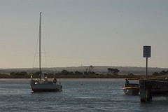 Looking North from Queenscliff (Thingo) Tags: fishing yacht queenscliff swanisland rabbitisland swanbay activeassignmentweekly boroughofqueenscliffe 5knots backtobasicslandscapes Thingo:ID=imgp5110s
