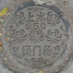 Shanghai manhole cover (Aeranthes) Tags: street texture circle concrete iron steel cover squaredcircle manhole manholecover squared hipbottoosmall