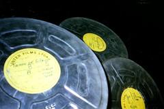 Tres rollos de films tomados en perspectiva