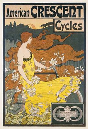 Рекламный плакат эпохи модерн