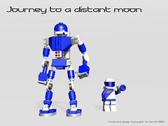 Retro Robot (gambort) Tags: lego space foitsop