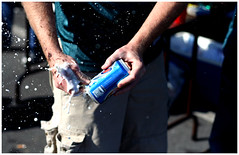 Shotguns (paul drzal) Tags: beer dallas football bad drinking tailgate to philly shotgun eagles spills mcnabb linck lff
