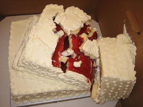 Cake Disaster -- Flickr.com