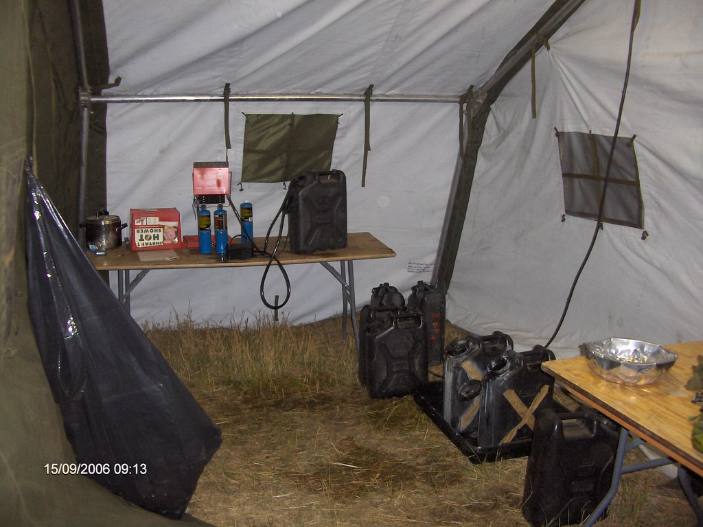 The Abolution tent