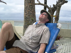 Chris relaxing (thrashor) Tags: chris fiji geotagged sandypoint geolat18175416 geolon177542281
