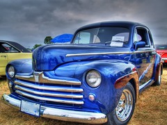 1948 Ford Coupe (Jamie Amodeo) Tags: blue ontario canada ford 1948 car bravo jamie stirling fair olympus vehicle coupe hdr carshow e500 showandshine photomatix evolt500 tonemaped abigfave jamieamodeo